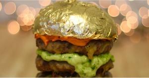hamburger wagyu panino d'oro